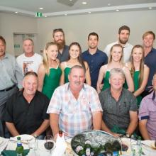 Alleygators Old Boys, Cheer Squad and Players at the Sportsman Luncheon 5/9/2014