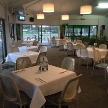 INDOOR DINING AREA AVAILABLE FOR FUNCTIONS