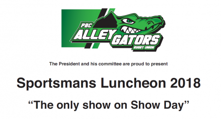 Sportsman's Luncheon 2018