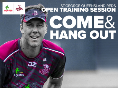 St.George Queensland Reds Open Training Session